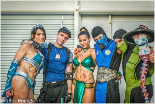 Friendship! Mortal Kombat Cosplay - Romics 2012 by LeonChiroCosplayArt