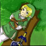 Link - Relaxing for the day by KittyKyomi