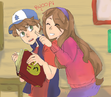 Mystery Twins by xFarEastAlicex