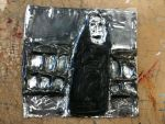 No-face metal plate by thearist2013