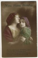 Vintage mother and daughter X by MementoMori-stock