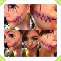 Cheshire Cat Make Up by Koalois