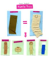 Dr Bandaid Family Tree by philippajudith