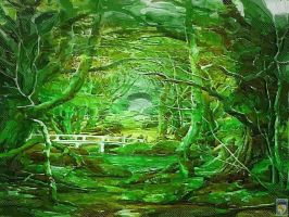 fantastic green forest by imageking10