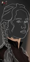 Katniss WIP 2 by theant4