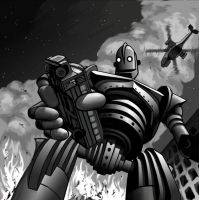 Iron Giant by Lucidflows
