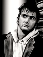 David Tennant by SouthWolfie