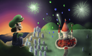 Year of Luigi Celebration by KCampbell499