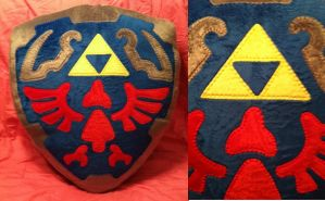 Link's Shield Plush by House-of-Squee