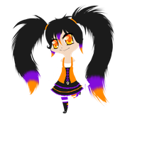 .:OC:. Aki - Lineless by oOCupcakeOo