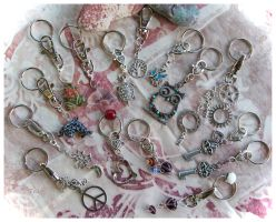Key Chains or Clips NEW#3 for THE SHELTER PROJECT by TeaPhotography