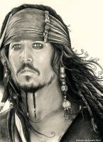 Captain Jack Sparrow by georginaflood