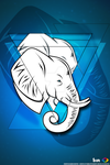 Wallpaper (phone) elefante HD by MikyDesign