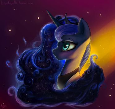 Warm side of the night by Rain-Gear