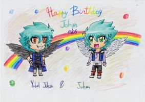 Happy Birthday Johan .... very late by IperGiratina98