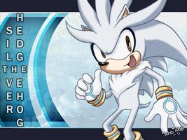 Silver the hedgehog by icha-icha