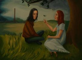 Youth 2 - Snape and Lily by MrsGraves