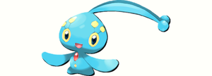 The Seafaring Pokemon: Manaphy by scriptureofthescribe