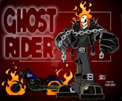 Ghost Rider by Scupbucket by THE-Darcsyde