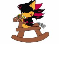 Kate on rocking horse by X-ShiningStar-X