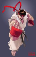 ryu by lazeedog