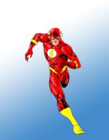 The Flash - Colored by Rusten