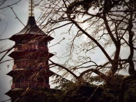 Pagoda out of Asia ~ by fetchingfeast