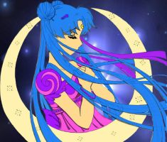 Sailor Moon Line art Colored by Ostria
