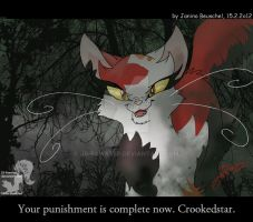 Crookedstars Promise -Final Punishment by JB-Pawstep