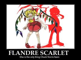Flandre Scarlet Motivational by PoisonPocky