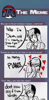 STAB meme with Deva and Cacao by Claamchowder