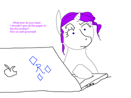 Rarity Loves Myst by Yamathan