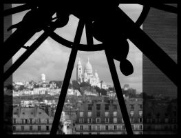 PARIS - Orsay and Sacre Coeur by srossetto