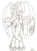sergal angel by Dirty-Wolf
