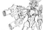 Elita-1 Pencils by ninjha