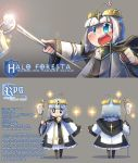 Character sheet - Halo Foresta by Porforever