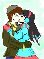 WINTER KISS by 123chachy