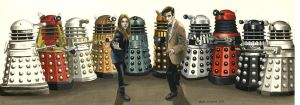 Timey-Wimey of the Daleks by Marc137