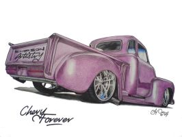 Chevy Forever by SIMPSONARTISTRY