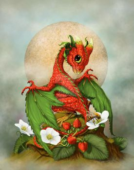 Strawberry Dragon by SMorrisonArt