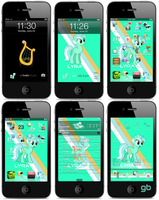 Lyra iPhone/iPod touch Theme by GermanBeez