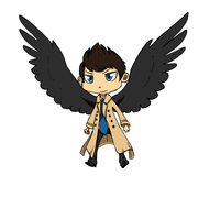 Castiel Animation by riolu-mewfan