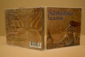 CD cover Immerge by Subaqueous 2 by INDRIKoff