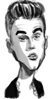 bieber by ByunCaricature