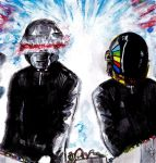 Give Life Back to Music - Daft Punk by smjblessing