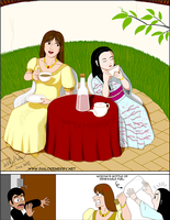 Don't interrupt their tea time by SailorEnergy