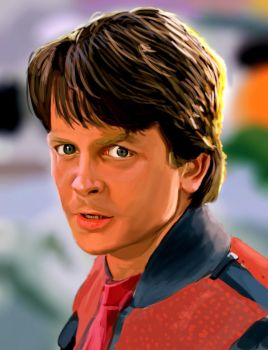 Marty McFly by ChristopherChrisps