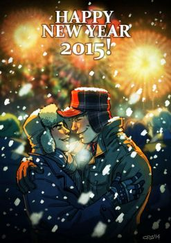 New year 2015 by Cris-Art