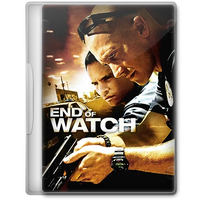 End of Watch (2012) Movie DVD Icon by A-Jaded-Smithy