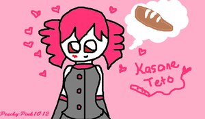 Kasane Teto - Our No.1 Bread Lover! by Peachy-Pink10